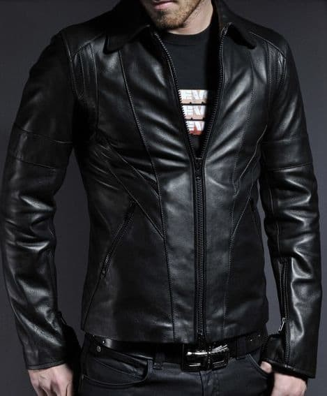 470+ Model Jaket Kulit Hitam Terbaru