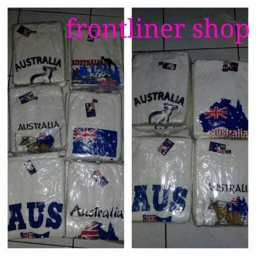 harga Kaos souvenir australia keren Tokopedia.com
