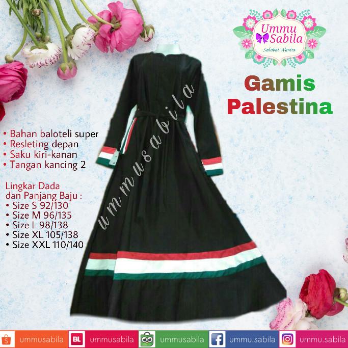 Jual Grosir Gamis Syar I Palestina Baju Muslim Busana Muslim Palestina Kota Depok Ummu Sabila Tokopedia
