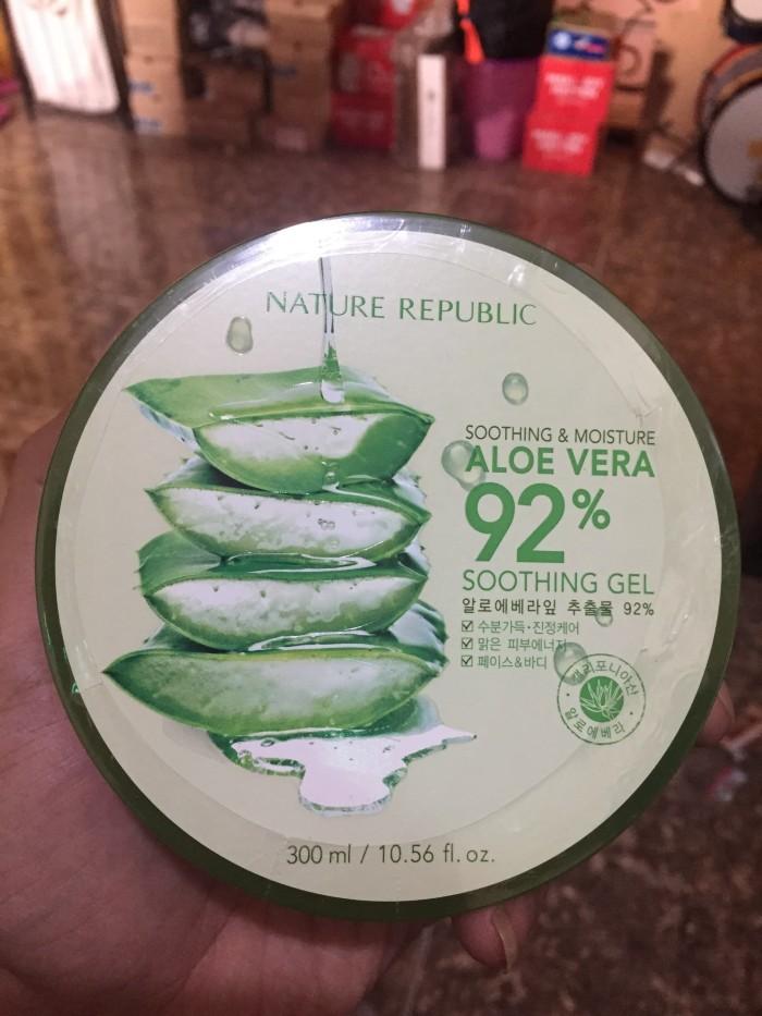 harga Nature republic - original korea soothing & moisture aloe vera 92% Tokopedia.com
