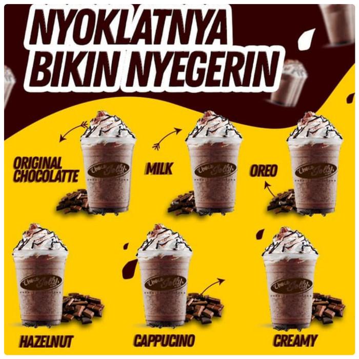 Jual Paket Franchise Ice Coklat Nyoklat By Halwa Dessert Bubble X Banner Dki Jakarta Tjeker Maera Tokopedia