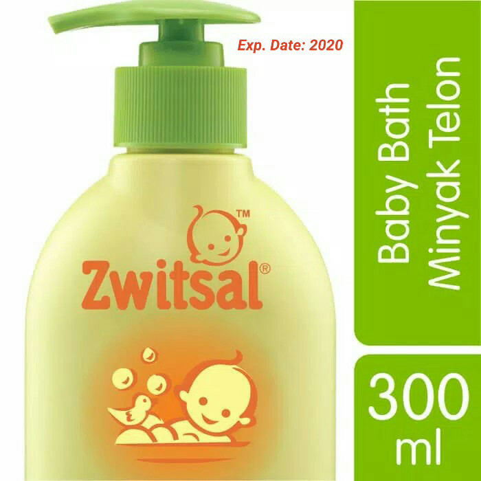 harga Zwitsal natural baby bath minyak telon 300ml sabun bayi 300 ml pump Tokopedia.com