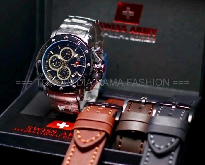 Jual Jual jam Tangan Pria Sport Swiss Army Original Watch - FASHION ... 30bb42121a