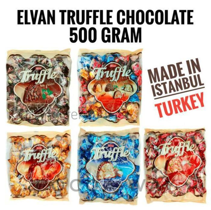 A51028 Coklat Elvan Truffle 500 gram - Assortment