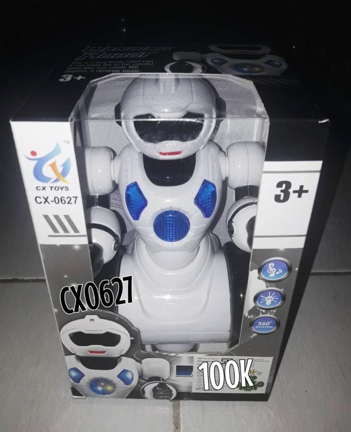 Foto Produk Mainan Dancing Robot Putih CX0627 dari SM Toys