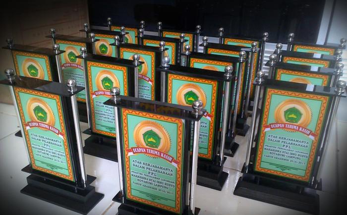 Jual Plakat Kayu Model Tugu bahan PVC Harga Murah ...