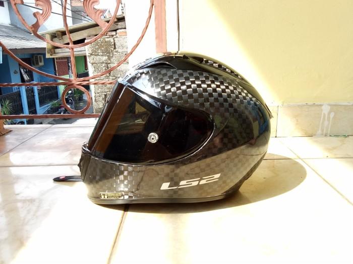 Helm Ls2 ff323 carbon not hjc shark shoei airoh arai kabuto nolan xlit 3