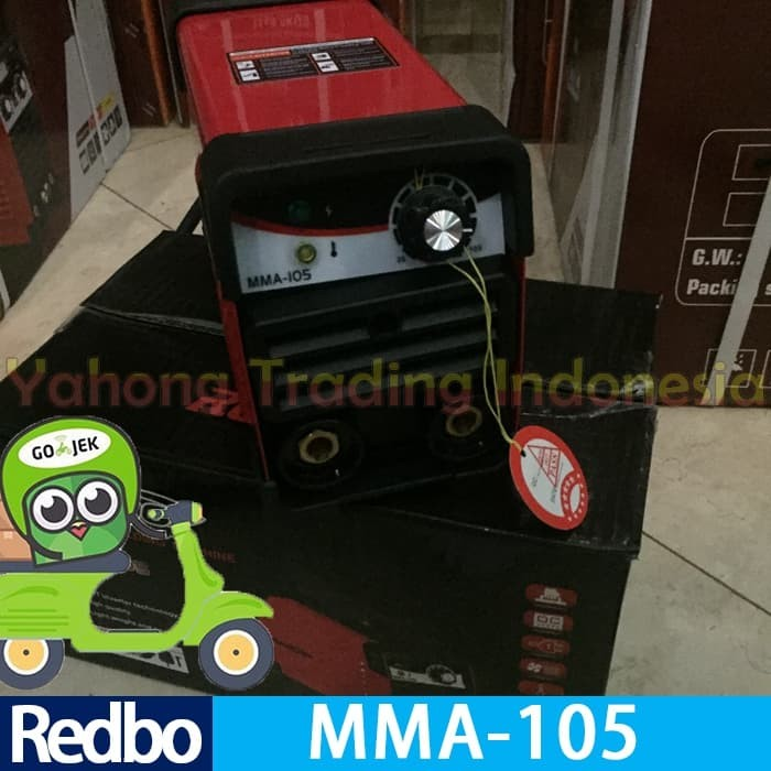 harga Mesin las inverter redbo resmi igbt mini hemat junior rdebo mma 105 a Tokopedia.com