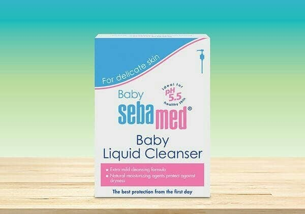 SEBAMED BABY LIQUID CLEANSER 1000ml SABUN CAIR BAYI