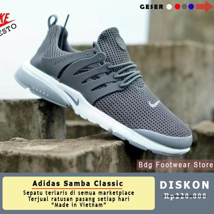 Jual Sepatu Olahraga Running Sneakers Jogging Pria Nike Presto Men ... e013172206