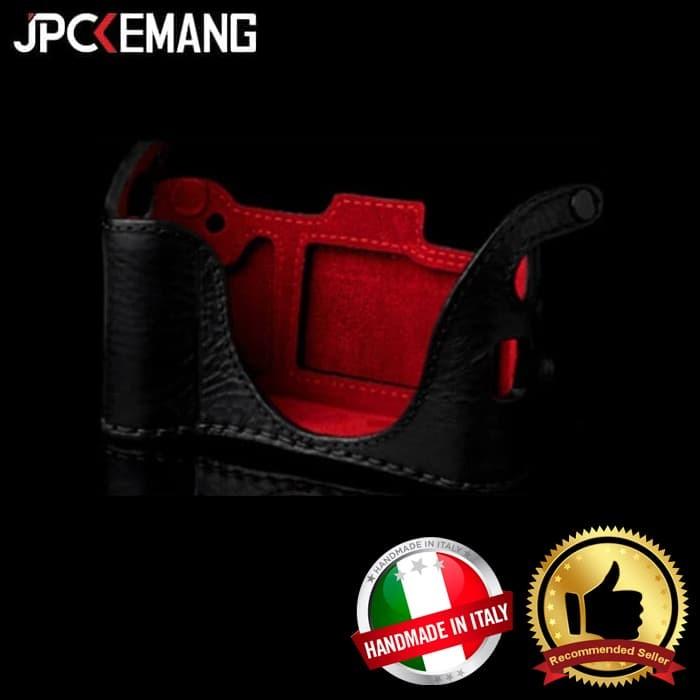 Foto Produk Angelo Pelle Leather Half Cases and Neckstrap for Fuji X100T dari JPCKemang