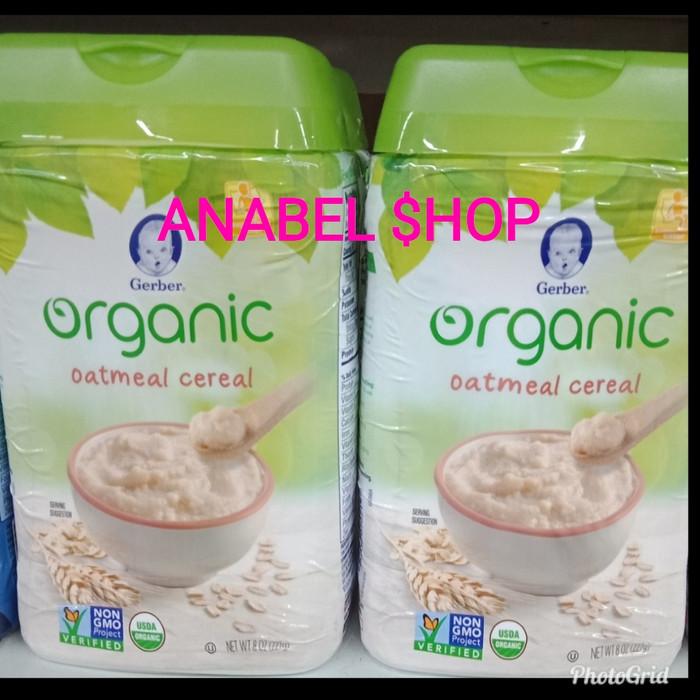 harga Gerber organic oatmeal cereal Tokopedia.com