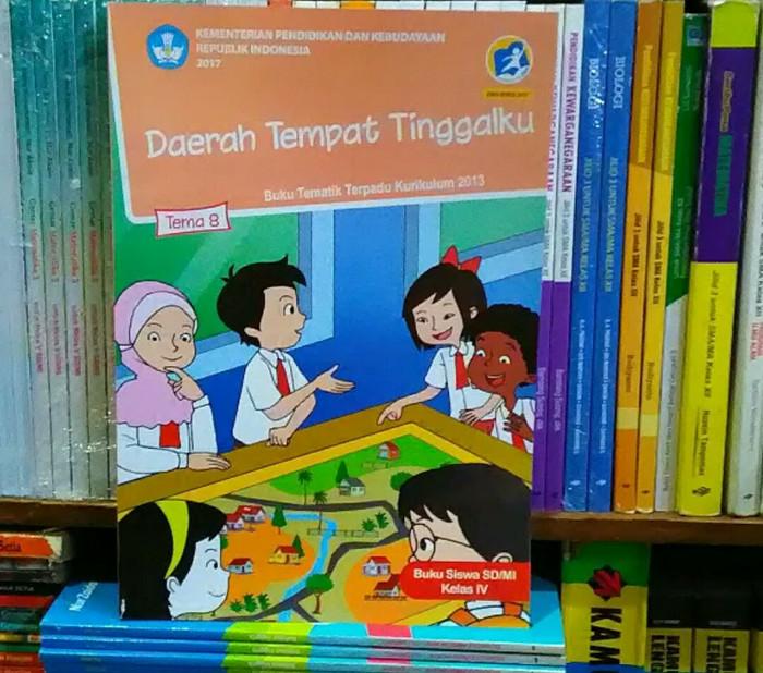 Buku Tematik Kelas 4 Tema 8 Kurikulum 2013 Edisi Revisi 2017