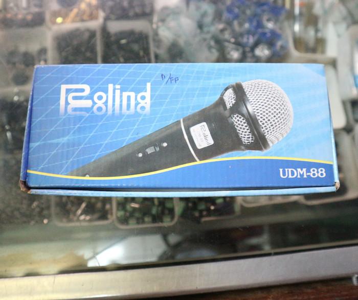 harga Mic / microphone pakai kabel (rolind dm88) Tokopedia.com