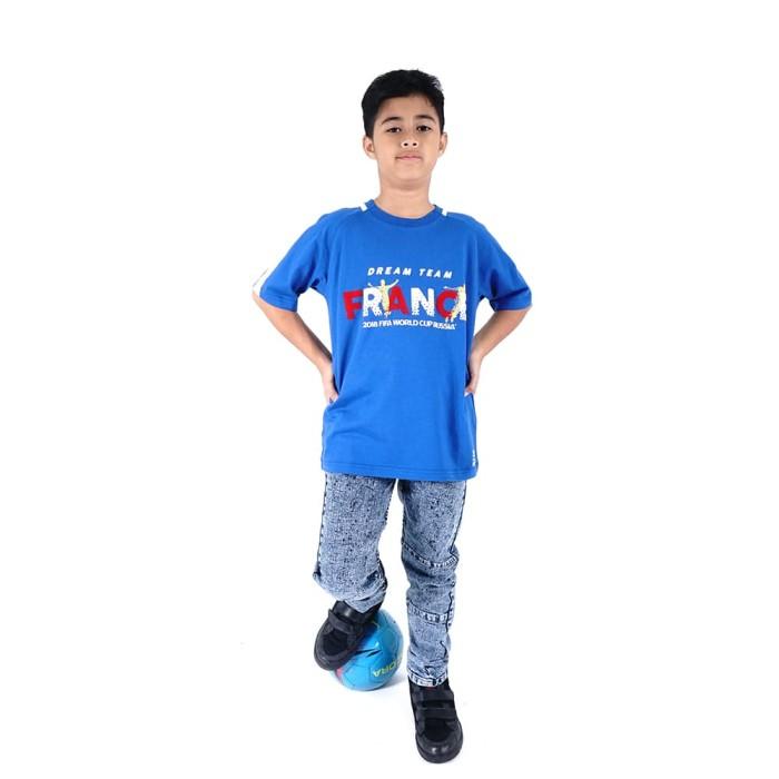 harga Fifa world cup raglan t-shirt anak laki-laki - aqua blue ff3014 - 8-9 tahun Tokopedia.com