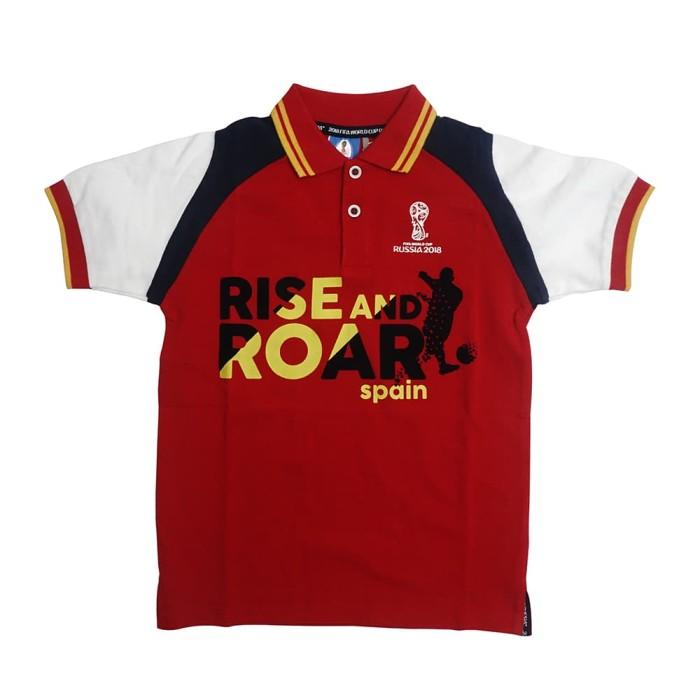 harga Fifa world cup raglan polo shirt anak - ff2002 - 8-9 tahun Tokopedia.com