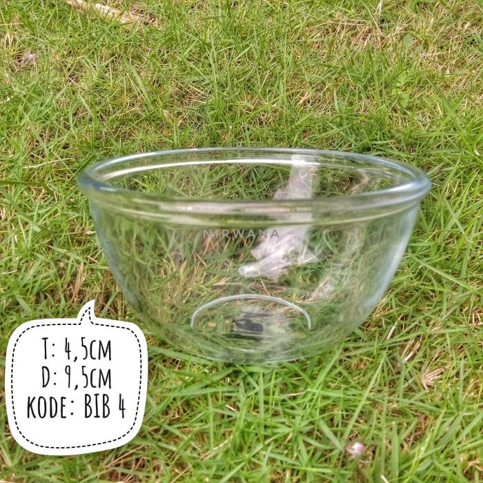 Foto Produk Mangkok kaca polos bowl souvenir BiB4 dari nirwana 2209