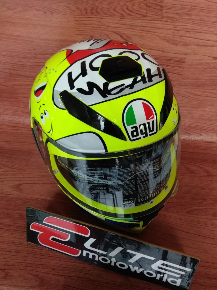 Helm AGV K3 SV Rossi Groovy Non Pinlock 1