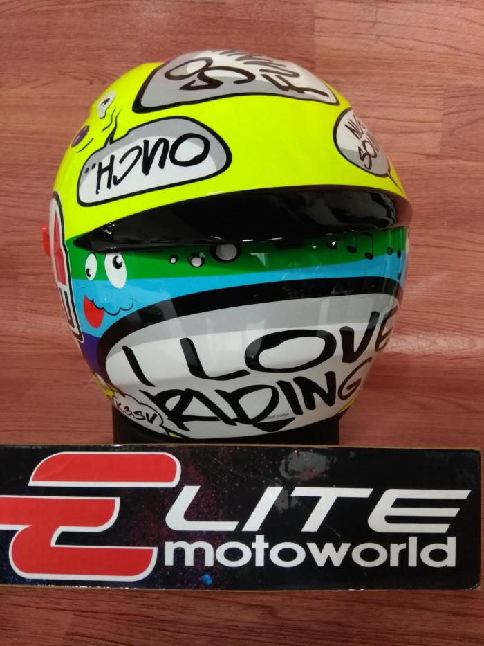 Helm AGV K3 SV Rossi Groovy Non Pinlock 3