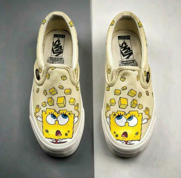 Jual Vans Vault Slip On x Spongebob