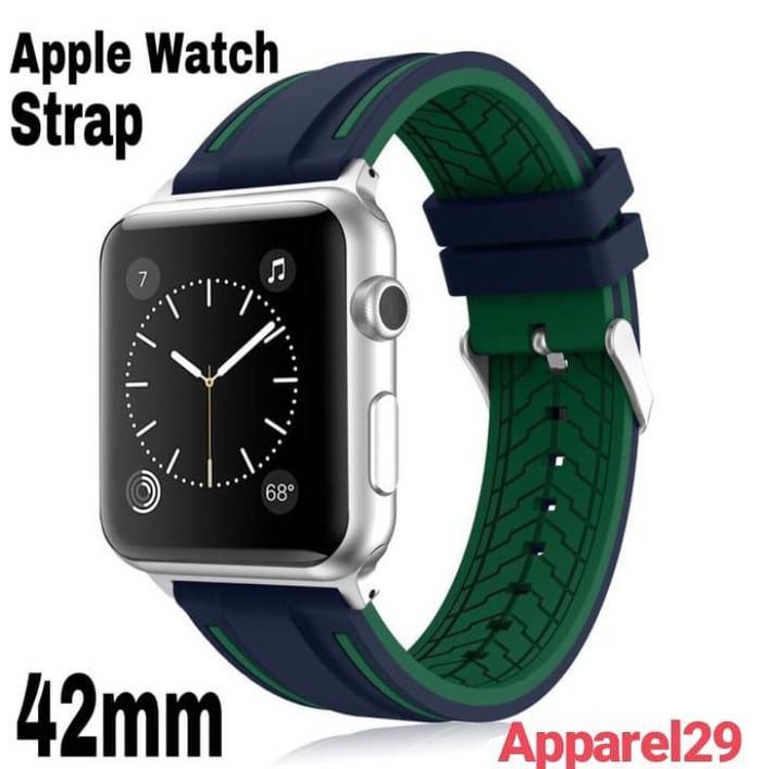 harga Apple watch strap silicone premium quality replacement tali gelang 42m Tokopedia.com