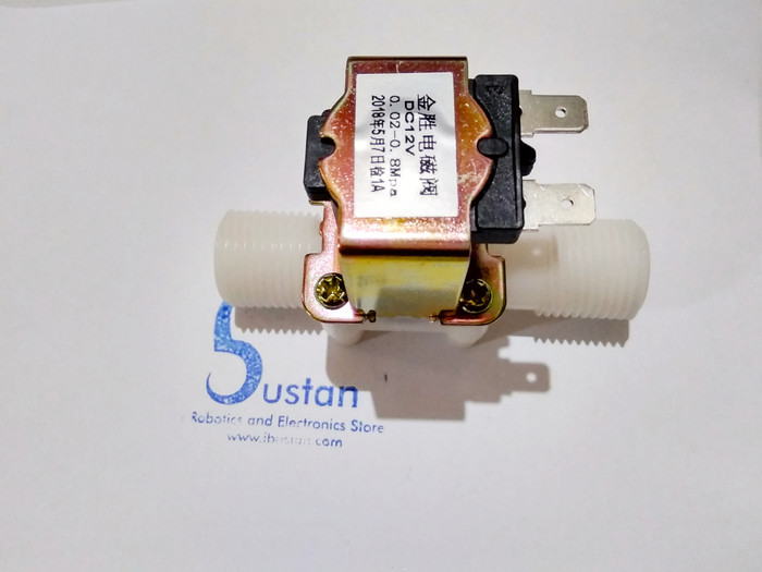 harga Dc 12v electric solenoid valve magnetic n/c water flow switch 1/2 Tokopedia.com