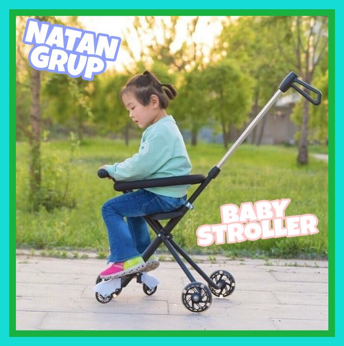 harga Stroller baby dorongan bayi 5 roda led Tokopedia.com
