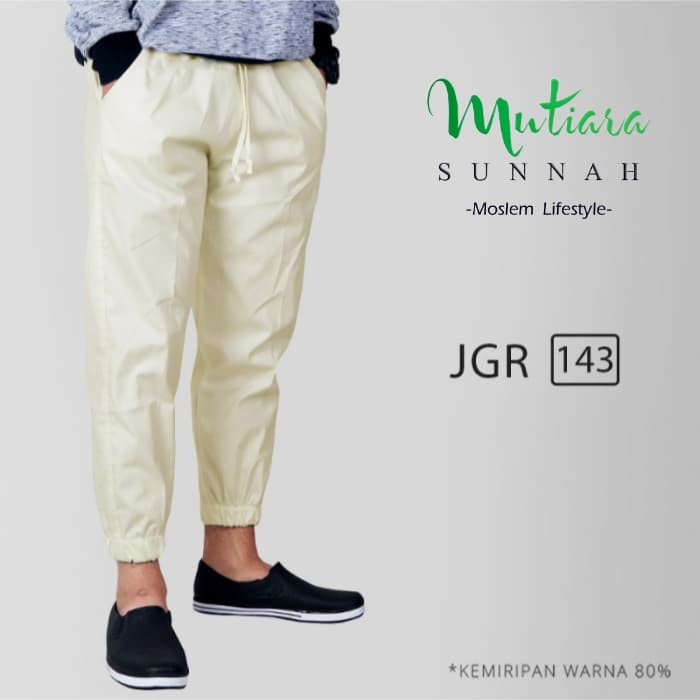 Jogger Pants   Celana Jogger   Sirwal Jogger   Celana Jogging Pria - JGR, M