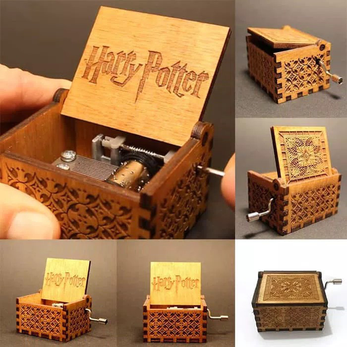 harga Music box harry potter hedwig theme handcrank kotak musik kado hadiah Tokopedia.com