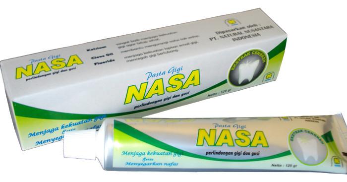 Jual Pasta Gigi Nasa Menghilangkan Plak Bakteri Bau Mulut Pada Gigi