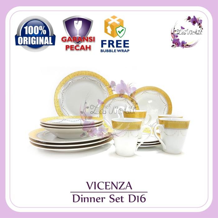 harga Dinner set vicenza d16 Tokopedia.com