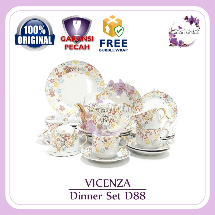 harga Dinner set vicenza d88 Tokopedia.com