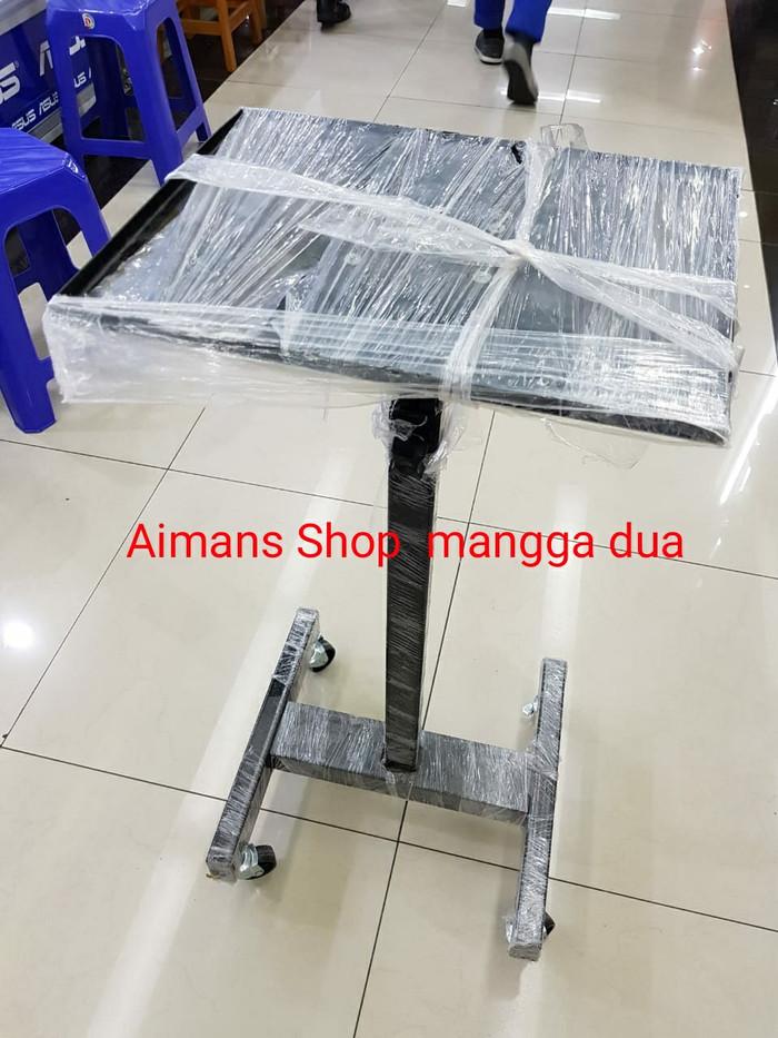 harga Stand proyektor tripod pakai roda/meja penyangga proyektor pakai roda Tokopedia.com