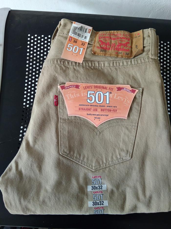 harga Celana jeans levis 501 khaki brown original mexico Tokopedia.com