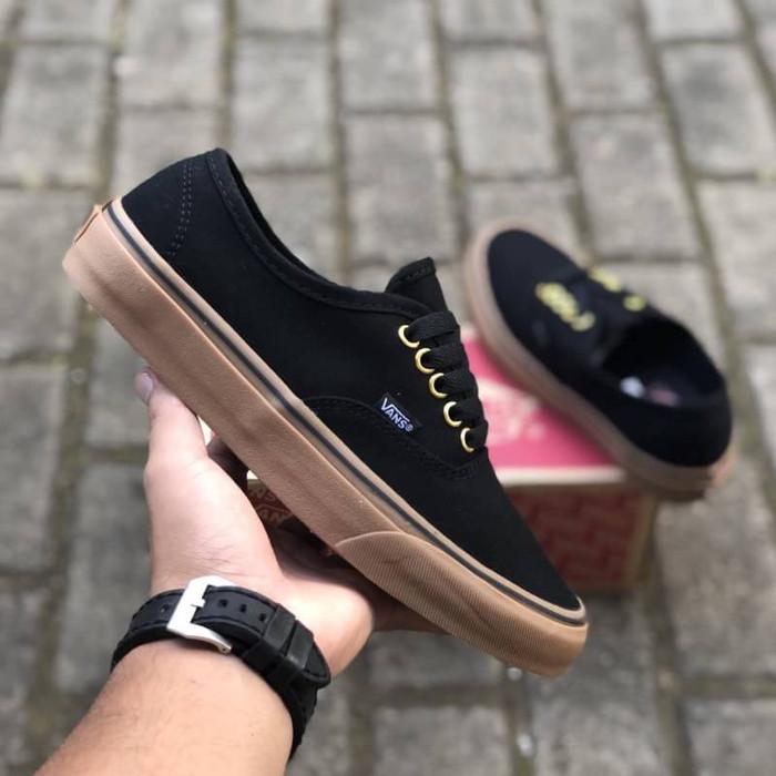 Jual sepatu vans authentic black gum bnib dt cek harga di PriceArea.com 4ceba29f18