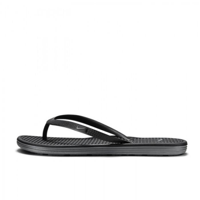 2f68f38f1b02 Jual Sandal Sneakers Nike Solarsoft Thong 2 Black Original 488161 ...