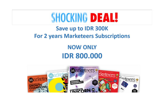 harga Shocking deal marketeers subscription 2 years Tokopedia.com
