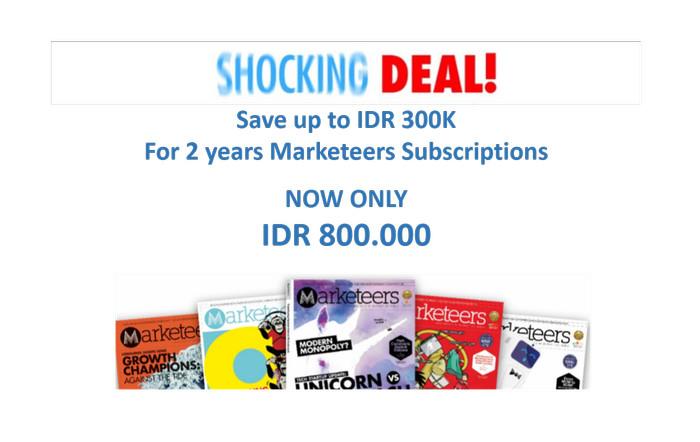 harga Shocking deal marketeers subscription 2 years Tokopedia.com