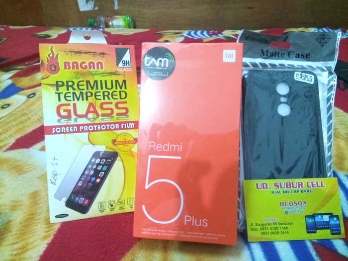 harga Xiaomi redmi 5 plus 4gb/64gb - garansi tam 1 tahun Tokopedia.com