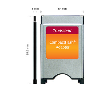 harga Transcend compactflash card adapter to pcmcia qs Tokopedia.com