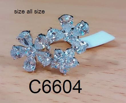 harga Cincin model bunga berlian emas c90 (anting gelang kalung) Tokopedia.com