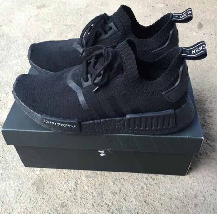 official photos 5546e e4396 Jual ADIDAS NMD R1 PK JAPAN TRIPLE BLACK 100% REAL BOOST ORIGINAL U.A -  Jakarta Selatan - TAGSIZE | Tokopedia