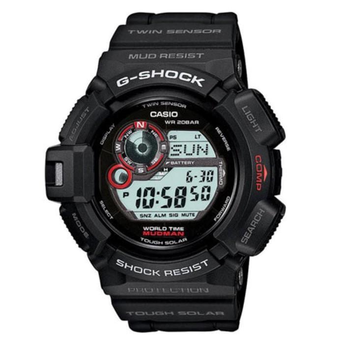harga Casio g-shock mudman g-9300-1 / g9300-1 Tokopedia.com