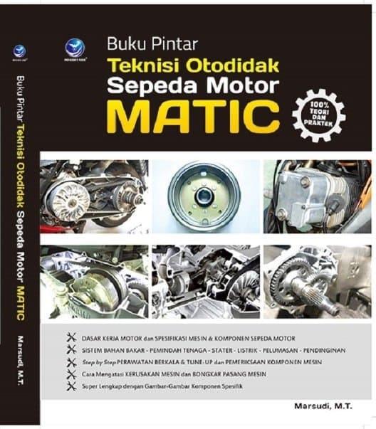 Jual Buku Pintar Teknisi Otodidak Sepeda Motor Matic Toko Ananda21