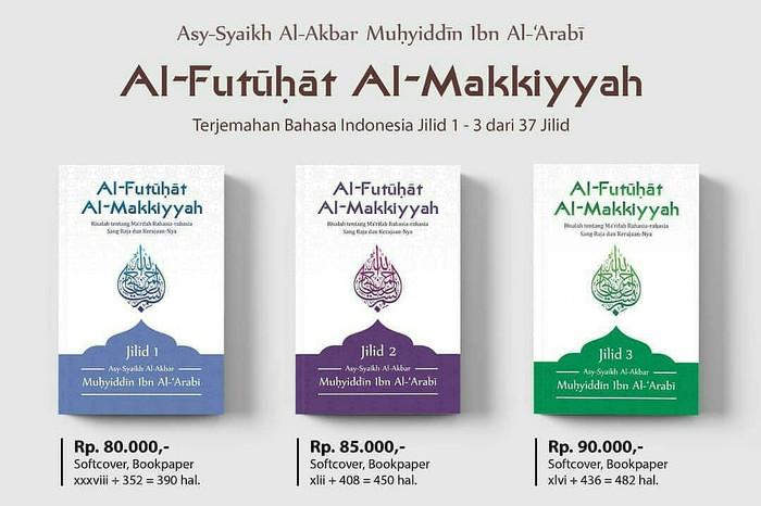 Foto Produk Al-Futuhat Al-Makkiyah 3 jilid dari Buku Islam Nusantara
