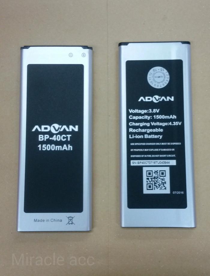 harga Baterai handphone advan bp-40ct / i4d / bp40ct / battrey / batre hp Tokopedia.com