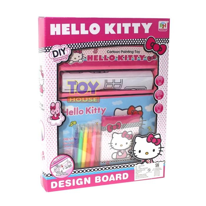 Jual Mainan Edukasi Anak Drawing Board Hello Kitty Mainan Mewarnai