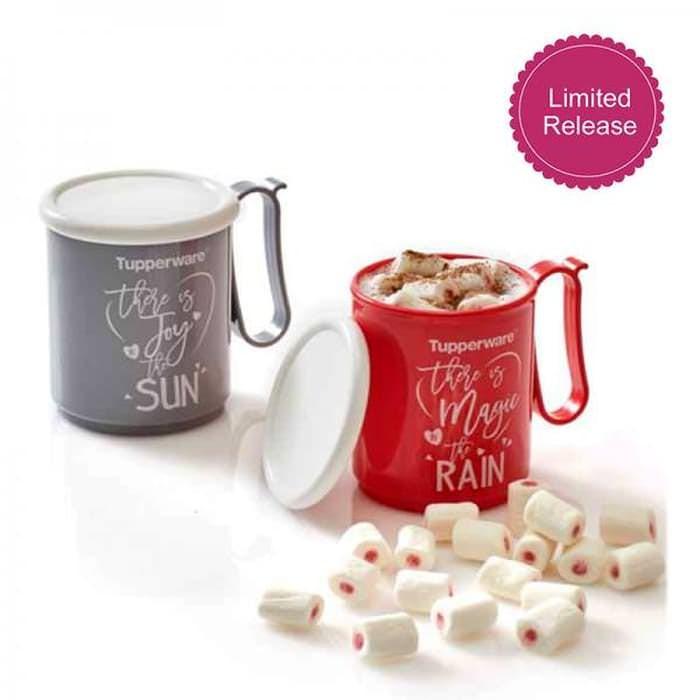 harga Tupperware jumbo mug gelas minum Tokopedia.com