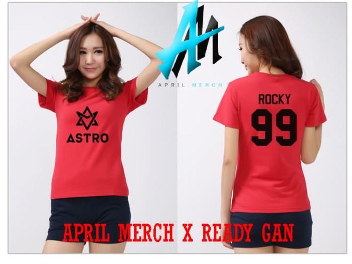 Jual Tshirt Baju Kaos Astro Kpop Member Rocky April Merch Kab Bandung Barat April Merch Tokopedia