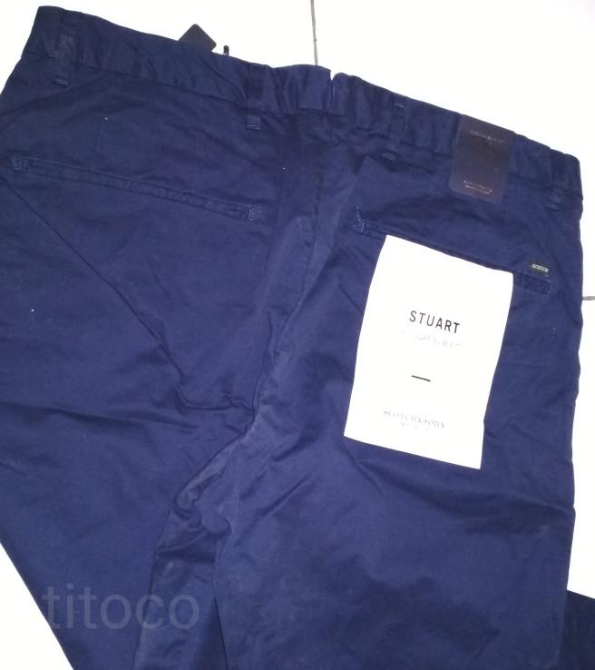Celana Chino Scotch & Soda Chino Pants | Celana panjang chino slim fit